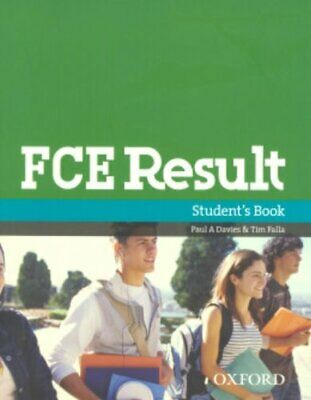 £5.99 • Buy FCE Result:: Student's Book By Stephens, Mary Paperback Book The Cheap Fast Free