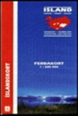 Touring Map Of Iceland Sheet Map, Folded Book The Cheap Fast Free Post • 13.99£