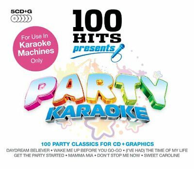 Various Artists - 100 Hits Presents: Party Karaoke - Various Artists CD UWVG The • 7.31£