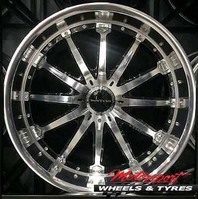 AU1990 • Buy ANZ Orchestra 22X9.5 MACHINED FACE WHEELS Mercedes X Class