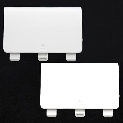 $4.36 • Buy 2 X White Battery Cover Lid Shell Door Replacement For Xbox One Controller