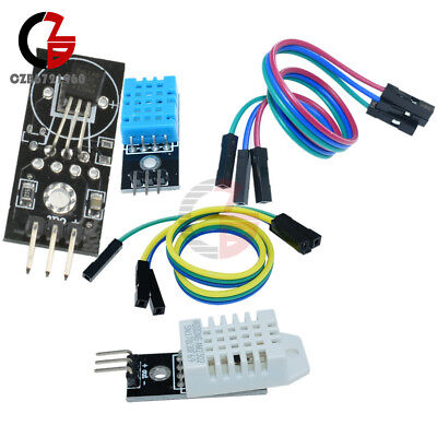 AU4.34 • Buy DHT11 DHT22/AM2302 DS18B20 Digital Humidity And Temperature Sensor Module