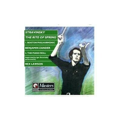 Stravinsky - The Rite Of Spring (two Versions - Orchestral &  Pian... -  CD YLVG • 4.41£