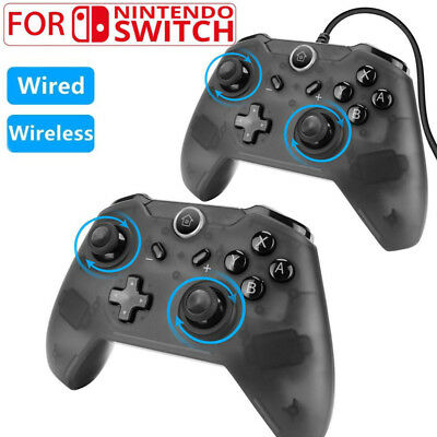 $16.63 • Buy Wired/Wireless Pro Controller Gamepad Joypad Remote For Nintendo Switch Console