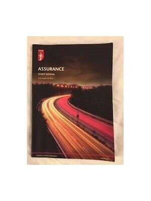 ICAEW Assurance Study Manual 2016 By ICAEW Book The Cheap Fast Free Post • 5.99£
