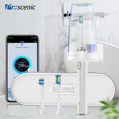 AU45 • Buy Ultrasonic Electric Toothbrush USB Rechargeable 4 Modes Auto UV Sterilization