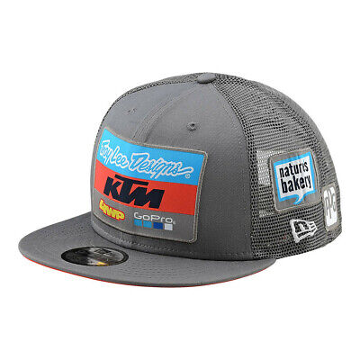 017cd1f43c1 New 2018 Troy Lee Designs Tld Ktm Team Lic Snapback Hat Charcoal   Navy •  24.00