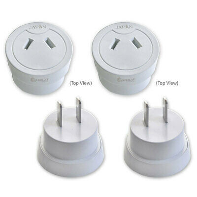AU19.95 • Buy 2x Universal Travel Power Adapter Australia AU/NZ To USA/Canada/Japan/Mexico