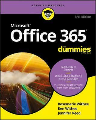 AU44.08 • Buy Office 365 For Dummies By Ken Withee (English) Paperback Book Free Shipping!