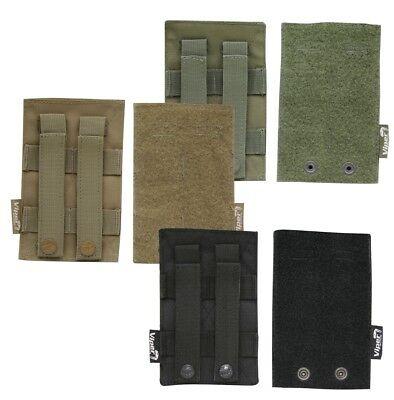 Viper Tactical ID Adjuster Sizing MOLLE 2 Patch Panels Twin Pack Airsoft Webbing • 8.95£