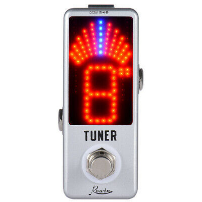 $ CDN27.37 • Buy Mini Tuner Pedal Effect LED True Bypass For Guitar Bass BB N8I9