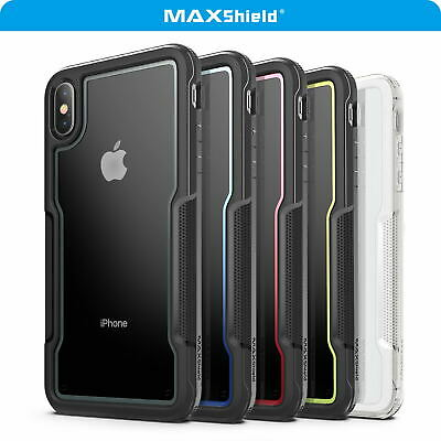 AU13.29 • Buy For IPhone X XS MAX XR Case Cover, Heavy Duty Shockproof Slim Clear Protect Case