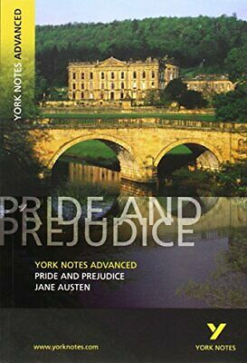 Pride And Prejudice: York Notes Advanced By Austen, Jane Paperback Book The • 3.29£