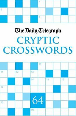 £21.99 • Buy Daily Telegraph Cryptic Crosswords 64 By Telegraph Group Limited Paperback Book
