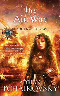 £5.99 • Buy The Air War: Trade Paperback (Shadows Of The Apt): 8 By Adrian Tchaikovsky Book