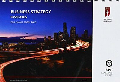 ICAEW Business Strategy: Passcards By BPP Learning Media Book The Cheap Fast • 9.99£