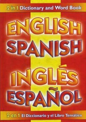 £1.99 • Buy ENGLISH SPANISH DICTIONARY AND WORD BOOK Book The Cheap Fast Free Post
