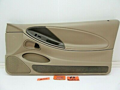 $199.94 • Buy Door Panel Right Passenger Side Speaker Cover Arm Rest Switch Trim Mustang 2001