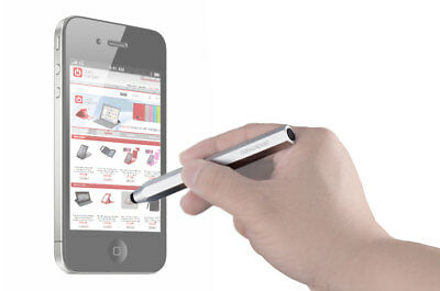 Silver Compact Design Touchscreen Pen Suitable For The Hannspree HANNSpad Tablet • 8.99£