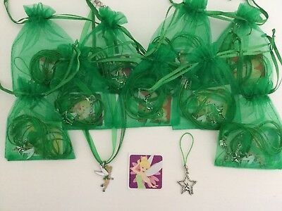 £2.50 • Buy Tinkerbell Pre Filled Party Bag, Necklace, Sticker, Charm,Princess, Gift Filler