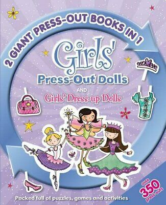 £5.49 • Buy 2in1 Dress Up Dolls (Jumbo Pressouts) By Igloo Books Ltd Paperback Book The