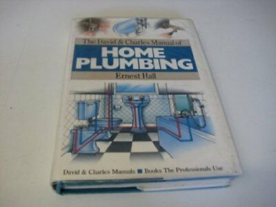 £3.99 • Buy The David & Charles Manual Of Home Plumbing By Hall, Ernest Hardback Book The