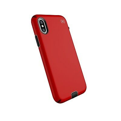 AU49.95 • Buy SPECK Presidio SPORT  Heavy Duty Case For IPhone X/Xs 5.8''  RED /BLACK  + TP
