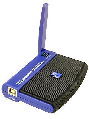 $12.19 • Buy Linksys Wireless USB Network Adapter 2.4 GHz 802.11b Model WUSB11 Ver 2.6