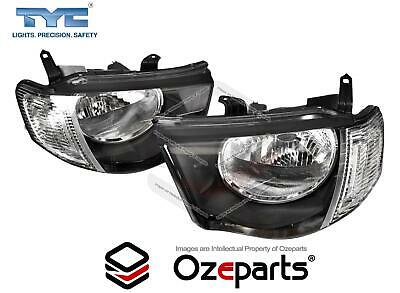 AU168.28 • Buy Pair LH+RH Head Light Lamp For Mitsubishi Triton Ute MN 2009~2015 GL GLX