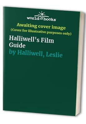 Halliwell's Film Guide By Halliwell, Leslie Hardback Book The Cheap Fast Free • 5.99£