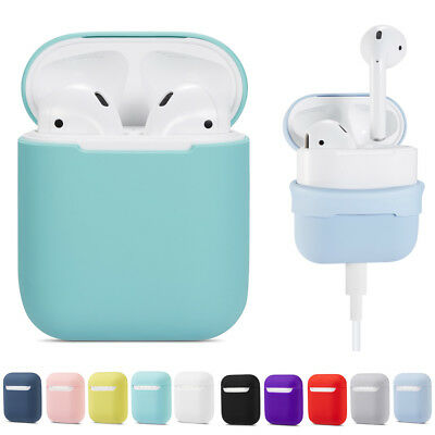 $ CDN5.72 • Buy Silicone Airpods Protective Cover Case Shock Skin For Apple AirPods Earphones
