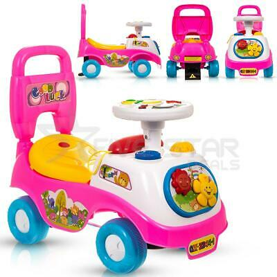 My First Ride On Kids Toy Car Boys Girls Push Along Toddlers Infants Walker New  • 19.94£