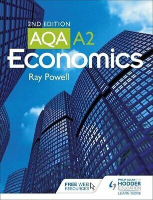 £3.99 • Buy AQA A2 Economics (2nd Edition) By Ray Powell Book The Cheap Fast Free Post