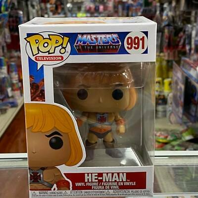 $15.99 • Buy Funko Pop! TV Masters Of The Universe: HE-MAN Vinyl Figure #991 With .5mm Case