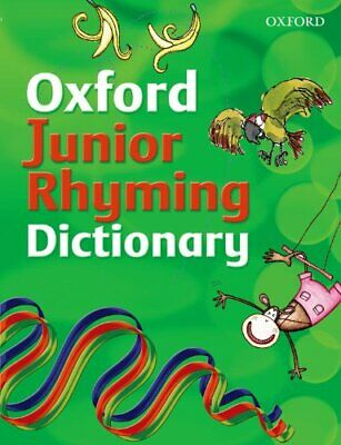 Oxford Junior Rhyming Dictionary By John Foster Paperback Book The Cheap Fast • 5.99£