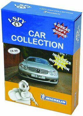 I-SPY Cars Collection (Michelin I-SPY Guides) By I-SPY Book The Cheap Fast Free • 7.99£