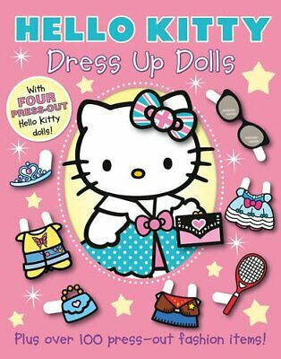 Dress Up Dolls (Hello Kitty) Book The Cheap Fast Free Post • 5.99£