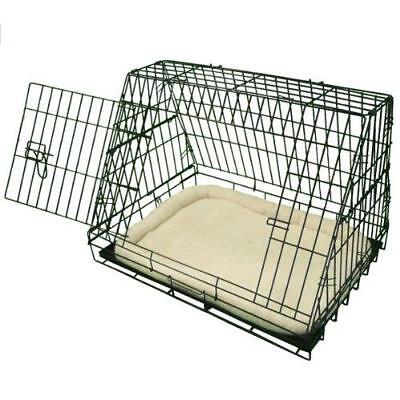 £43.99 • Buy Deluxe Sloping Puppy Travel Cage Folding Pet Dog Training Crate - Fits Most Cars