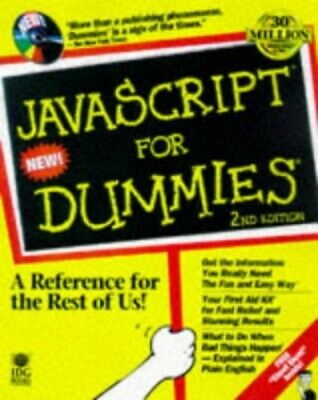 £6.99 • Buy JavaScript For Dummies By Vander Veer, Emily A. Mixed Media Product Book The