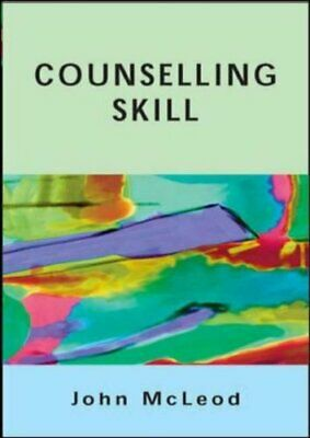Counselling Skill By Mcleod, John Paperback Book The Cheap Fast Free Post • 20.99£