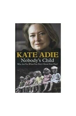 £5.99 • Buy NOBODY'S CHILD LARGE PRINT By Kate Adie Book The Cheap Fast Free Post