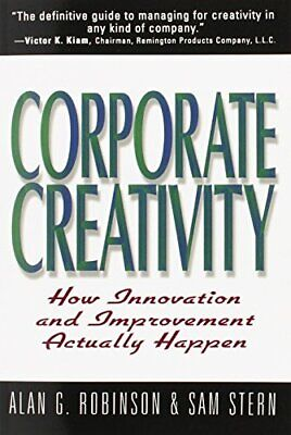 £3.59 • Buy Corporate Creativity: How Innovation & Improvement Act... By Sam Stern Paperback