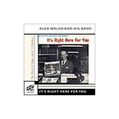 Alex Welsh & His Band - It's Right Here For You - Alex Welsh & His Band CD 1CVG • 7.93£