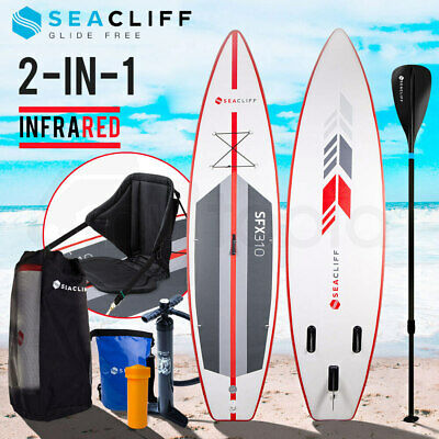 AU399 • Buy SEACLIFF Stand Up Paddle Board - Inflatable SUP Surf Kayak Paddleboard Race