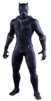 $ CDN869.02 • Buy Hot Toys Movie Masterpiece Civil War Captain America Black Panther 1/6 Figure