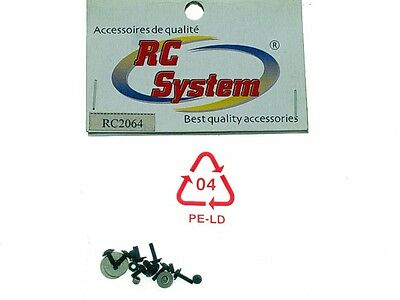 RC System Screws Microcopter RC2064 Modeling • 2.81£