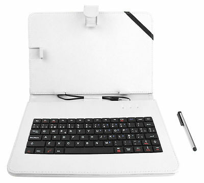 QWERTY Case Cover With Keyboard For Samsung Galaxy Note 10.1 & Tab 4 10.1  • 15.99£