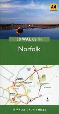 £5.99 • Buy 50 WALKS IN NORFOLK Book The Cheap Fast Free Post