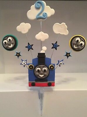 Handmade - Personalised- Thomas The Tank Engine Cake Topper - Trains -Unofficial • 14£