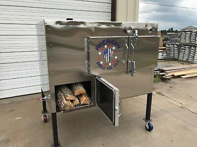 SRS Insulated 36  X 36  Rotisserie Smoker - Call Before You Buy • 8,495$